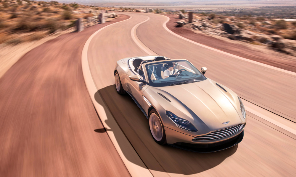 The DB11 Volante will be offered in V8 form only.