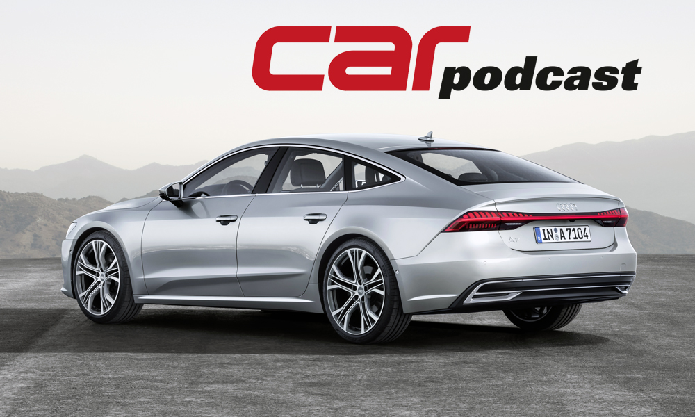 Audi A7 Sportback for podcast