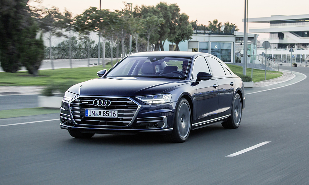 The A8's styling remains subtle