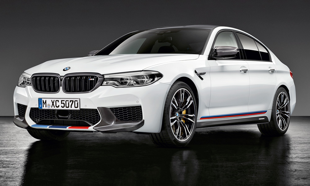 M Performance Parts for the new BMW M5