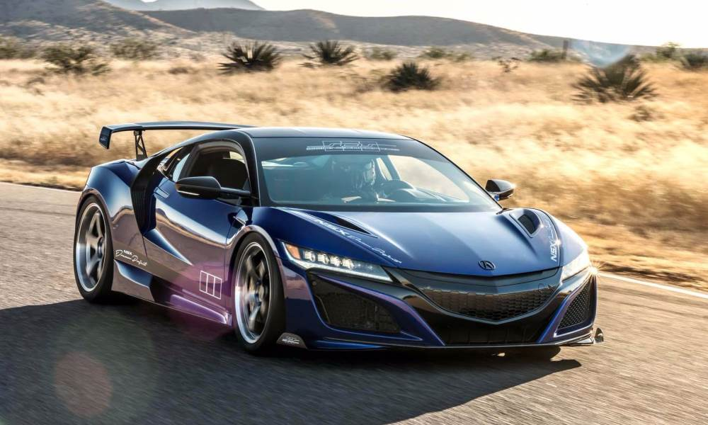 Dream Project Acura NSX front