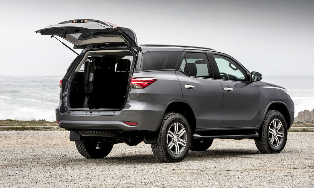 Toyota Fortuner Range Gains Extra Kit More Airbags Car