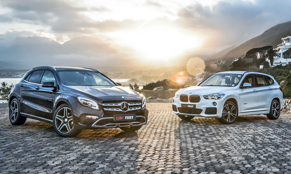 The Mercedes-Benz GLA takes on the BMW X1...