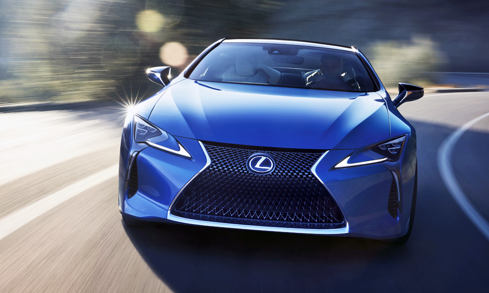 Lexus has revealed the new LC Structural Blue Edition...