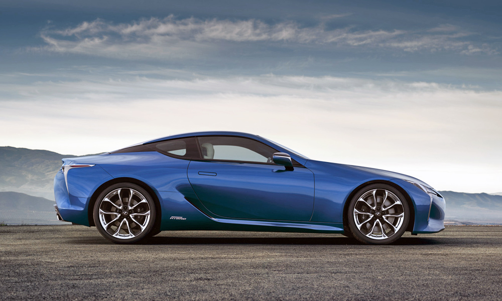 The process is so laborious that Lexus can make just two Structural Blue cars a day.