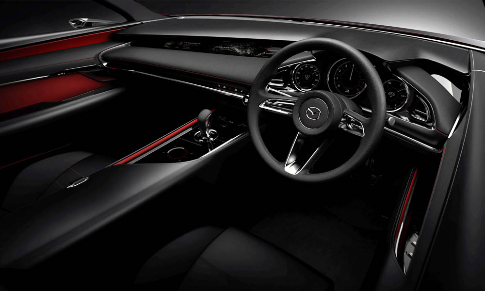 Sleek Mazda Kai Concept Previews Next Gen Mazda3 Car Magazine