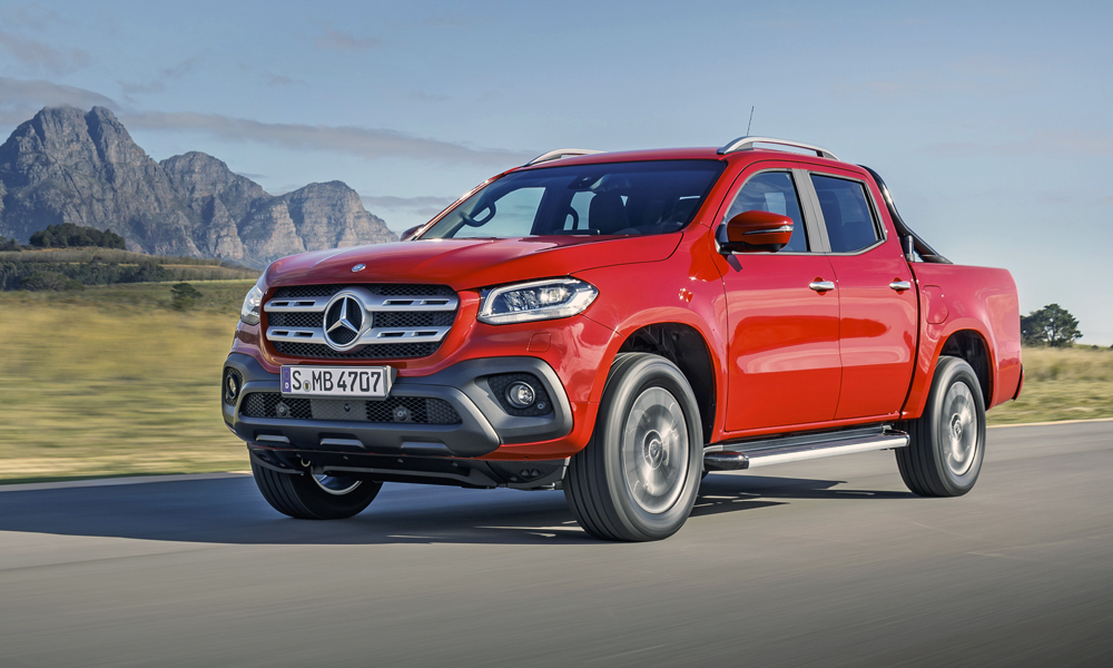 Mercedes benz says x class 39 deserves 39 premium price for Mercedes benz x class price