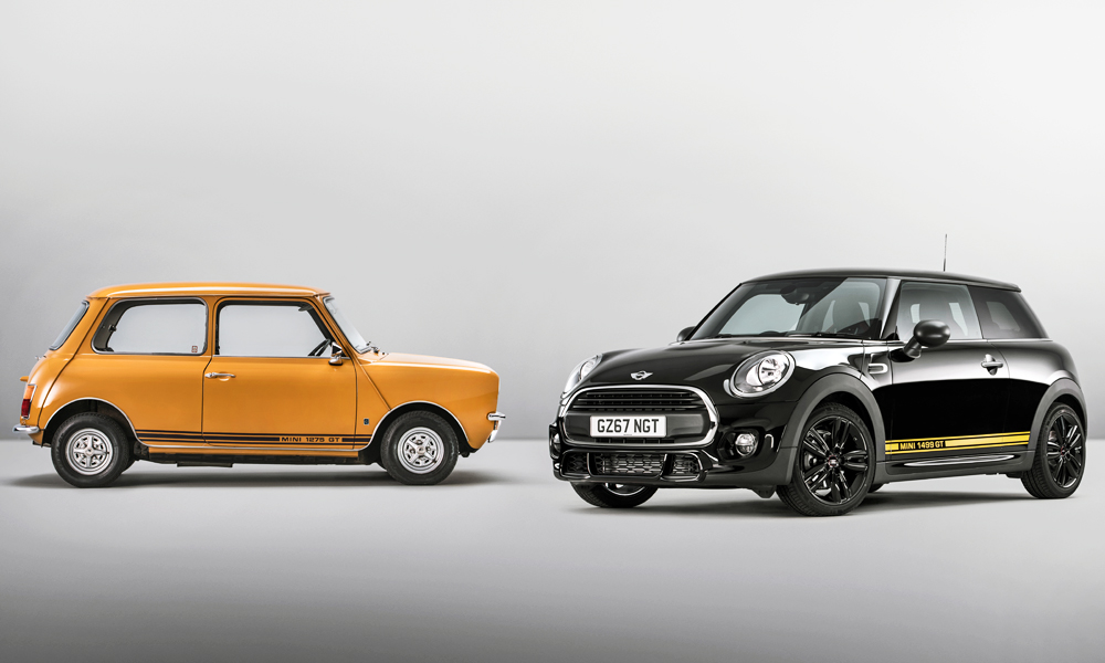 Mini UK has put together a special edition 1499 GT to pay tribute to the 1275 GT.