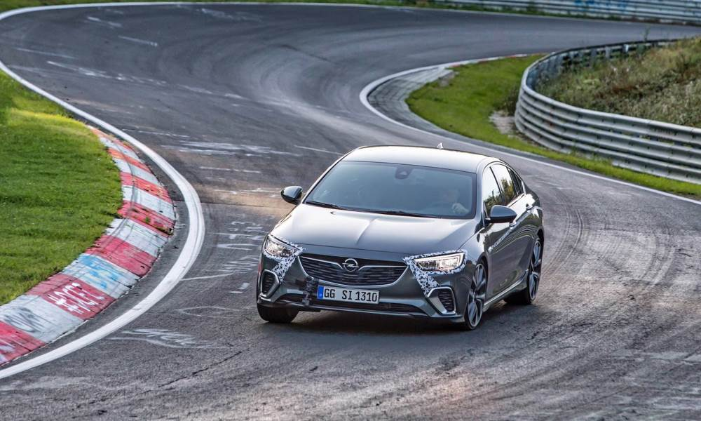 The Opel Insignia GSi has knocked 12 seconds off the lap-time set by the previous OPC model.