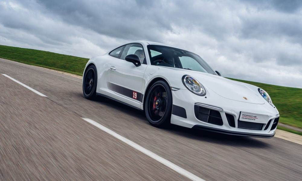 Porsche 911 GTS British Legends Edition Carrera White