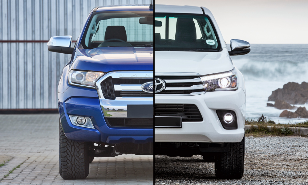 Ford Ranger and Toyota Hilux