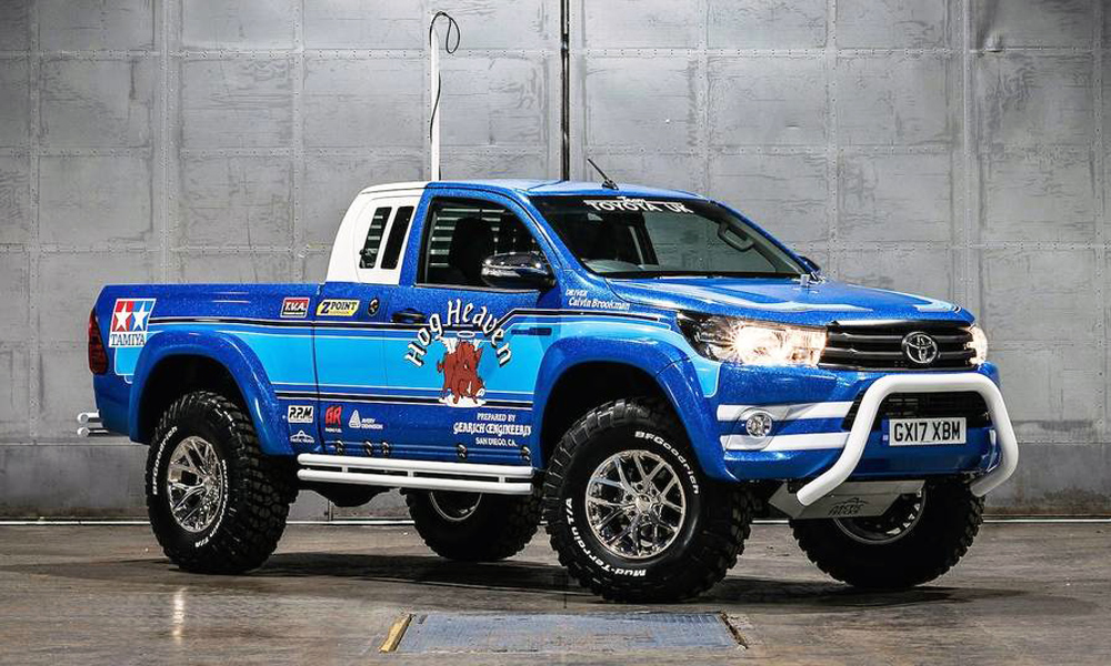 Toyota and Arctic Trucks have teamed up to create the Hilux Bruiser...