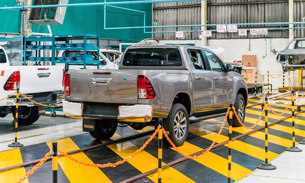 Toyota Hilux production at Prospecton