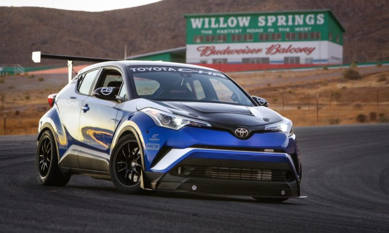 Toyota C-HR R-Tuned front
