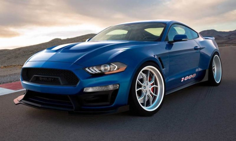 Shelby Mustang 1000 front