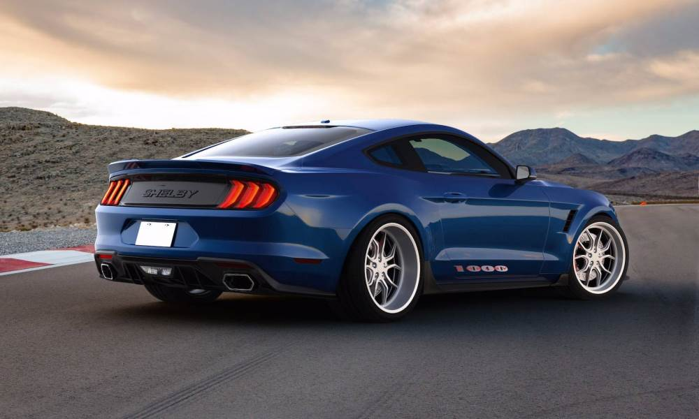 meet the shelby 1000 a 745 kw track tastic mustang car magazine