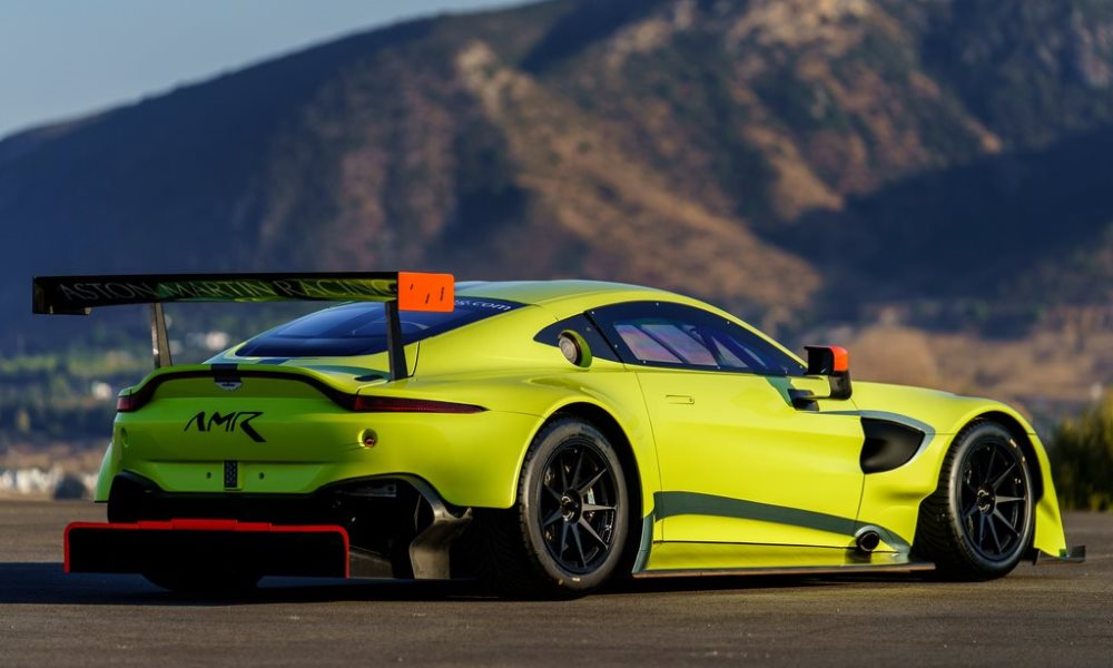The GTE is based on the new Vantage, but receives extensive upgrades.