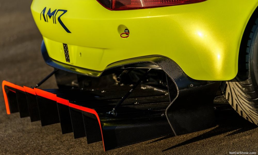 It looks like downforce will not be an issue.