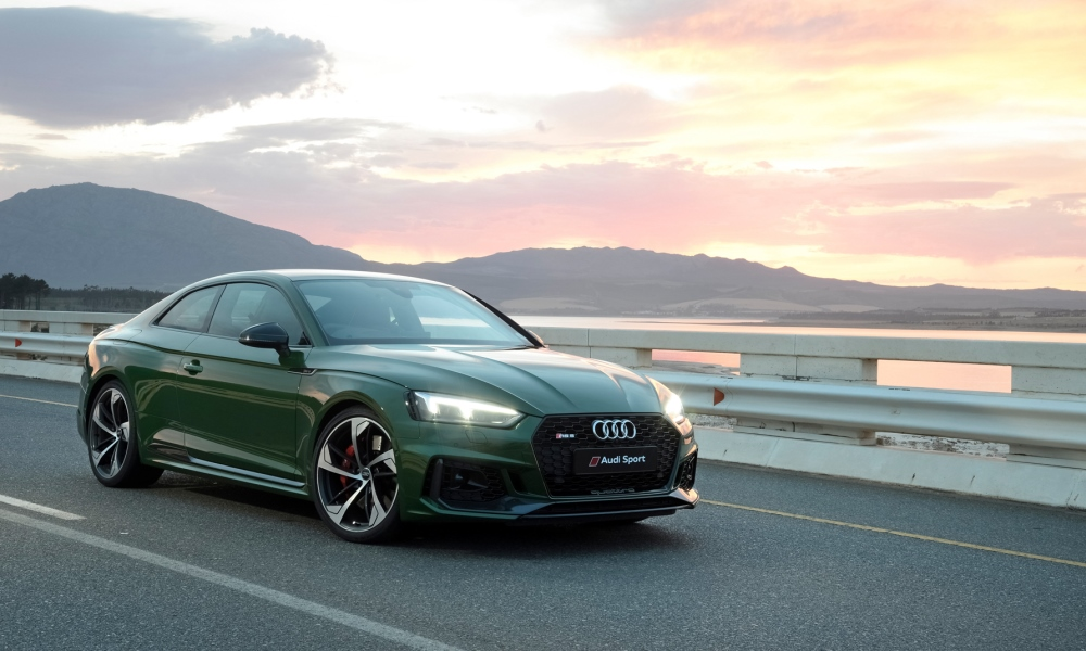 RS accents add more drama to the stylish A5 design.