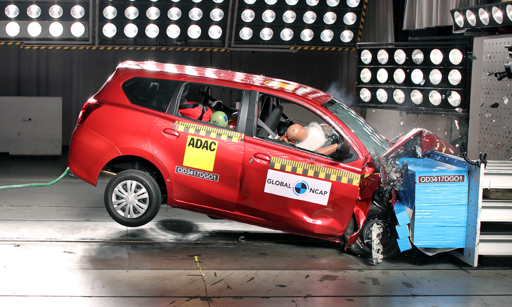 Global NCAP crash-test: SA-spec Datsun GO+ - CAR magazine