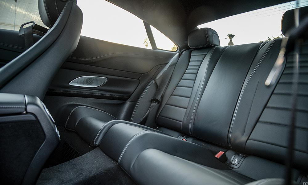 Rear bench offers more room than that of the predecessor.