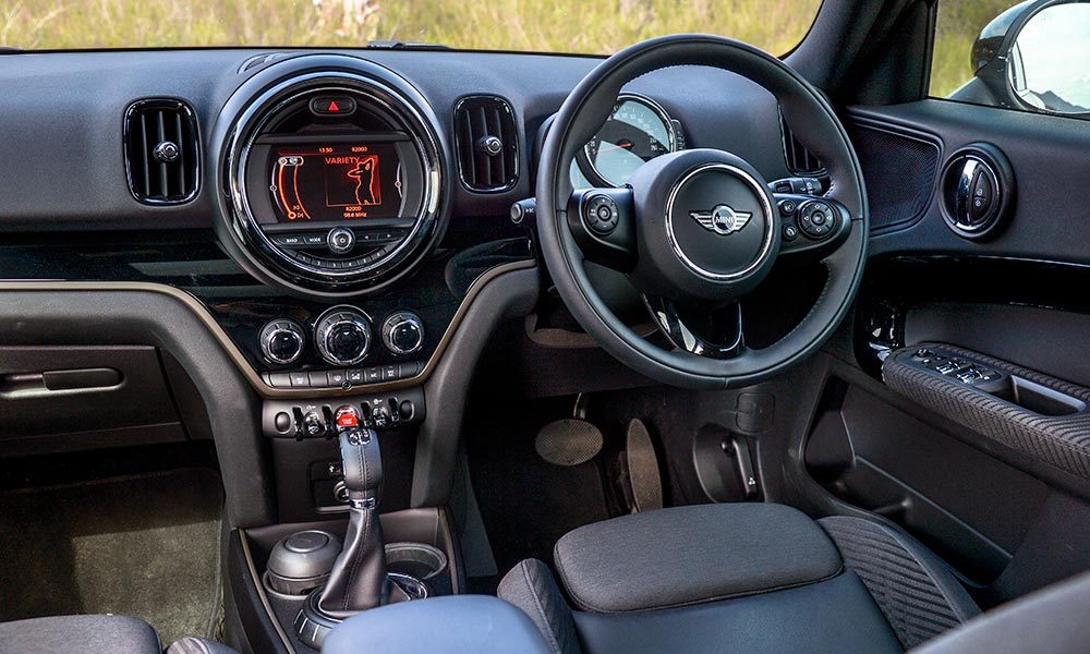 Cabin is suitably Mini-quirky, but some details are a little fussy.