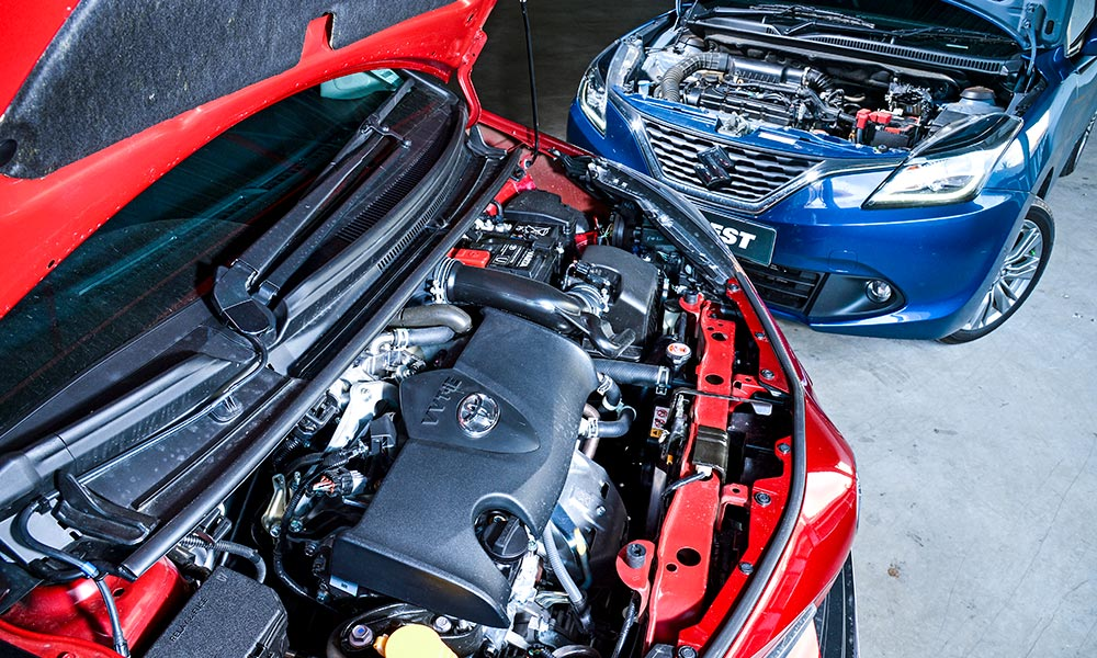 The new 1,5-litre engine in the Yaris offers improved efficiency.
