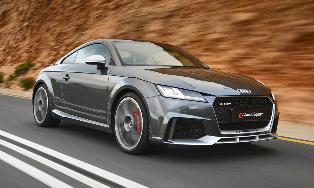 The new Audi TT RS has arrived in South Africa.