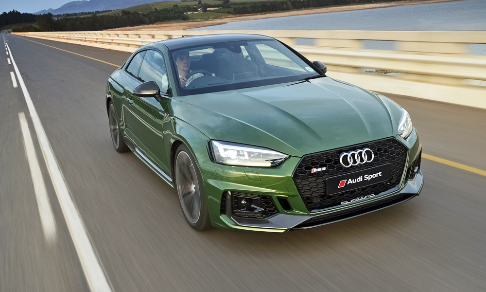 The Audi RS5 Coupé has arrived in South Africa.