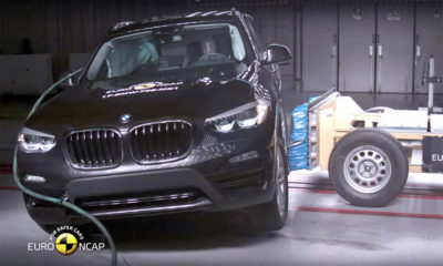 BMW X3 crash-test