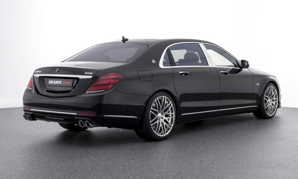 The Maybach has been given a new set of exhaust tailpieces, too.