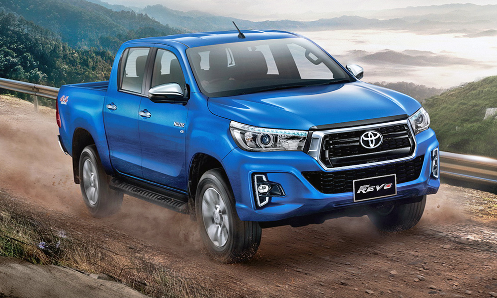 The Toyota Hilux has been given a fresh face in Thailand.