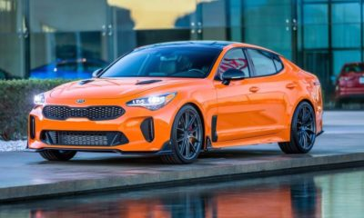 Kia Stinger GT Federation front
