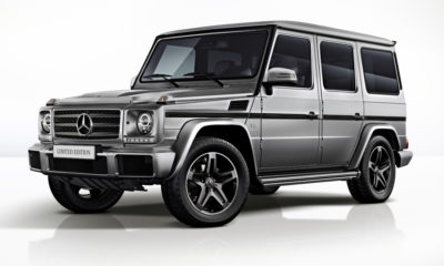 The Mercedes-Benz G500 Limited Edition.