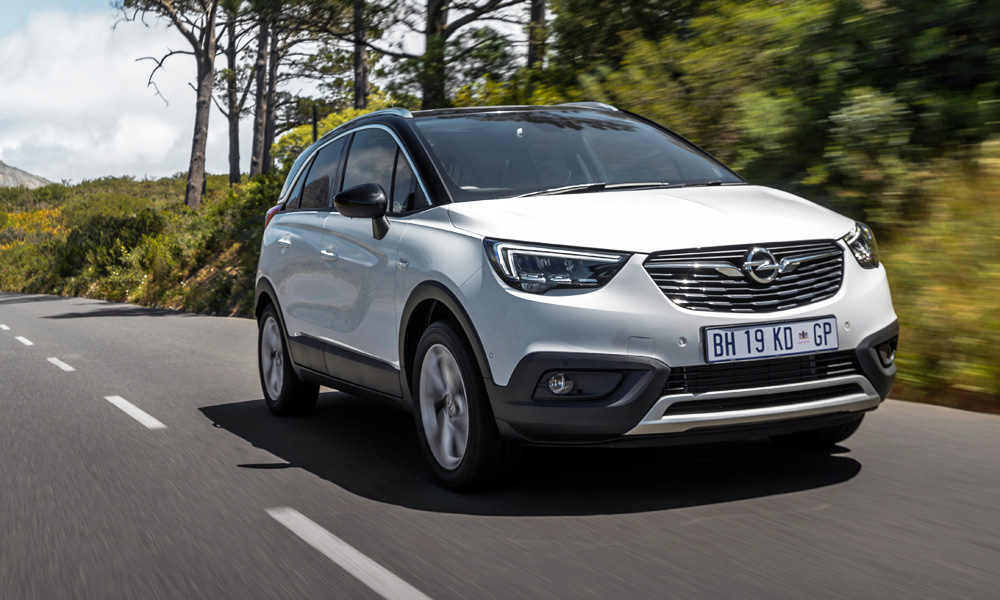 The Opel Crossland X has arrived in South Africa.