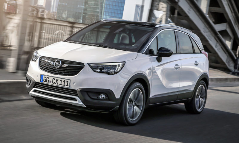 pricing new opel crossland x touches down in sa car. Black Bedroom Furniture Sets. Home Design Ideas