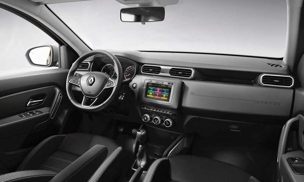 New sa bound renault duster finally revealed car magazine the touchscreen is now sited higher in the facia renault has revealed the new duster voltagebd Images