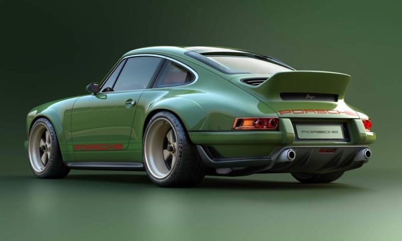 Singer-Williams 911 rear