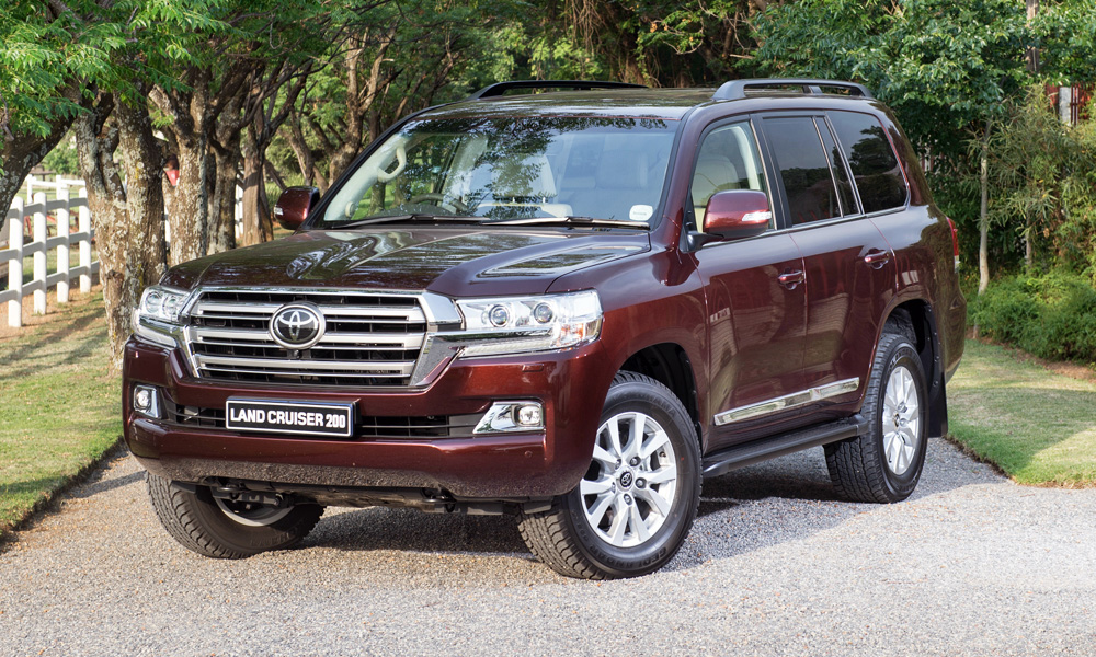 Toyota has given its Land Cruiser 200 a bit of an update.
