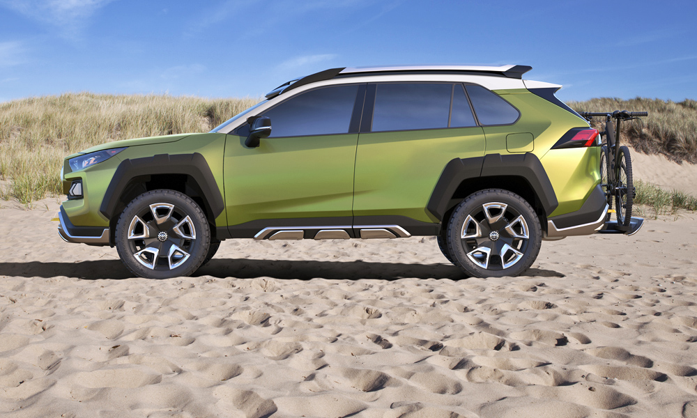 No official dimensions have been revealed, but Toyota says the FT-AC has a long wheelbase.