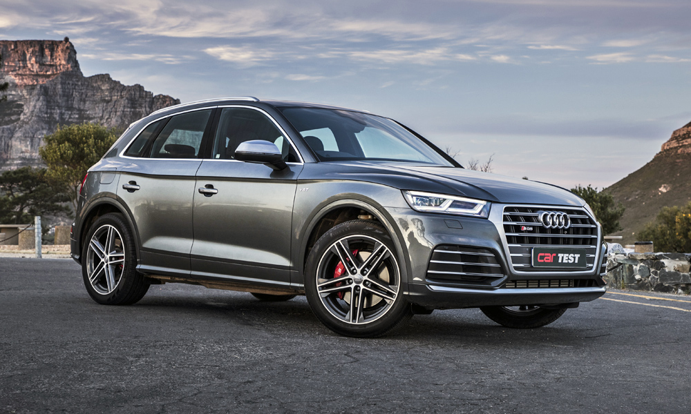 ROAD TEST Audi SQ T FSI Quattro Tiptronic CAR Magazine - Audi sq5