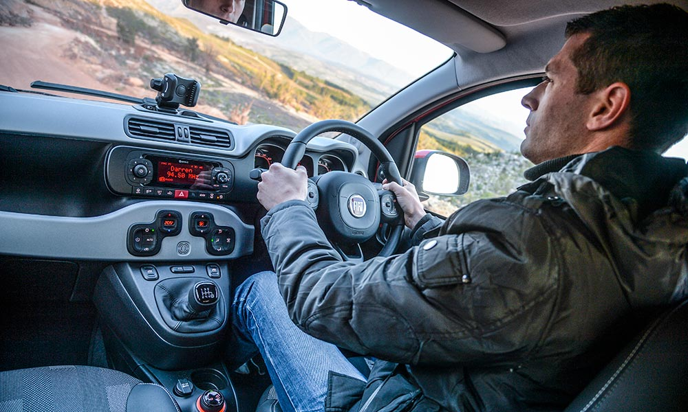 Cabin offers enough trimmings for the cash, but the driving position is compromised for taller folks.