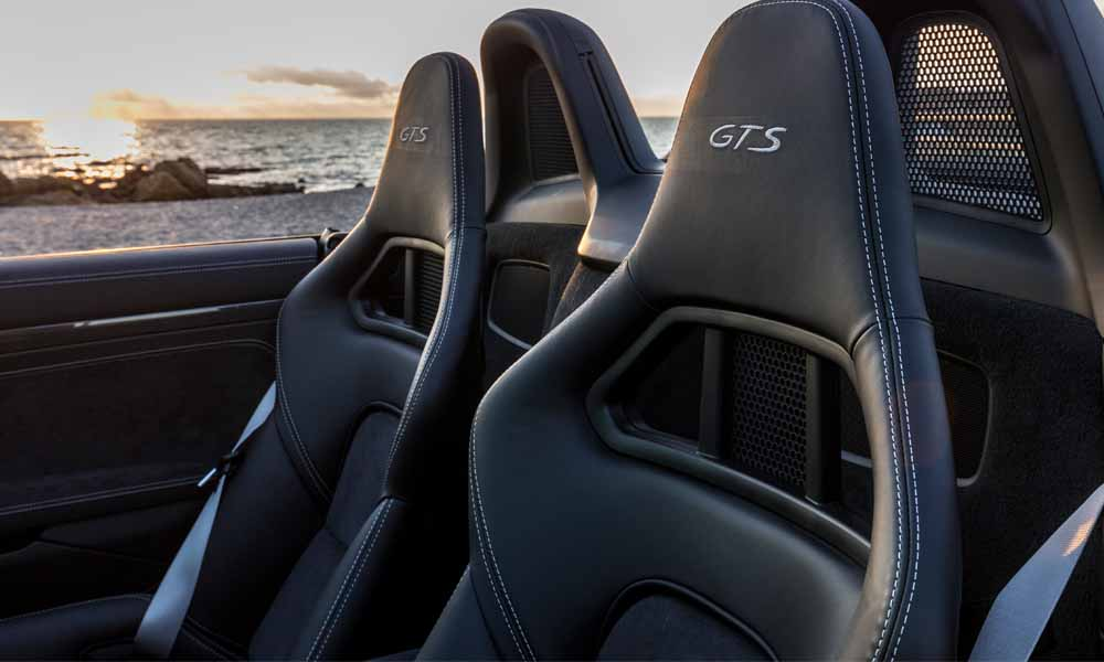 Sport Plus seats are a highlight of the GTS package.