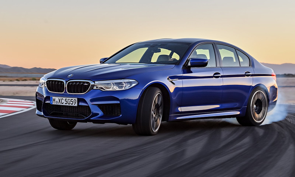 It may be AWD, but the new BMW M5 can still misbehave...