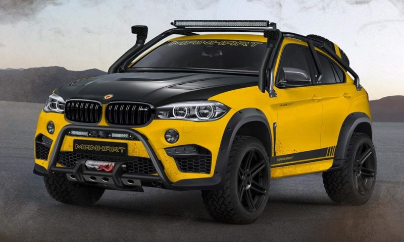 An X6 M For Off Roading Meet The Mhx6 Dirt Edition Car Magazine
