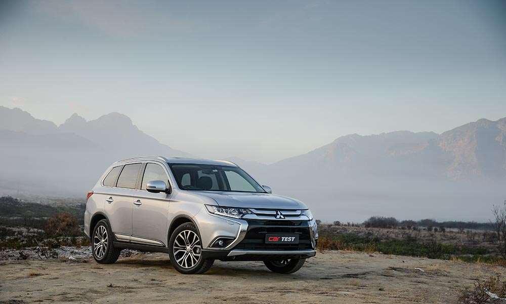 The latest update to the Mitsubishi Outlander is purely cosmetic.
