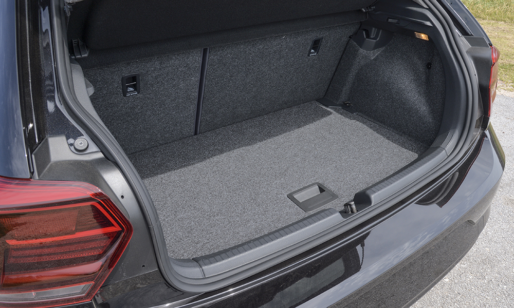 The boot is not as impressive, registering a class-average 224 litres on the Beats option, which incorporates a large subwoofer under the board.