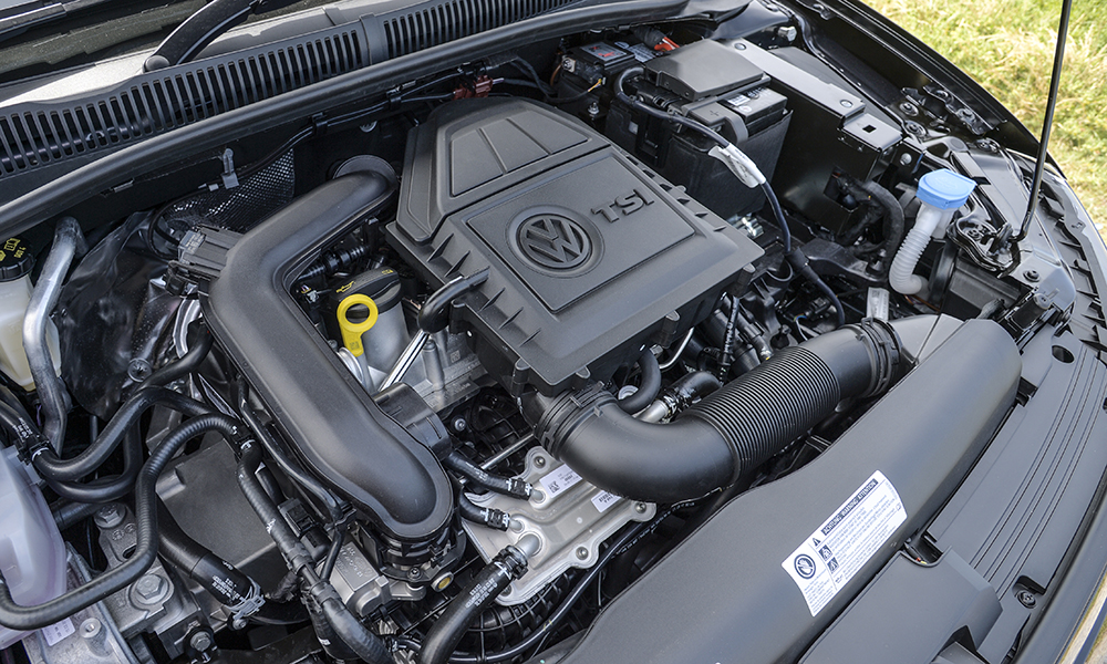 The 1,0 TSI engine is refined and torquey, but ultimate performance is acceptable rather than impressive.
