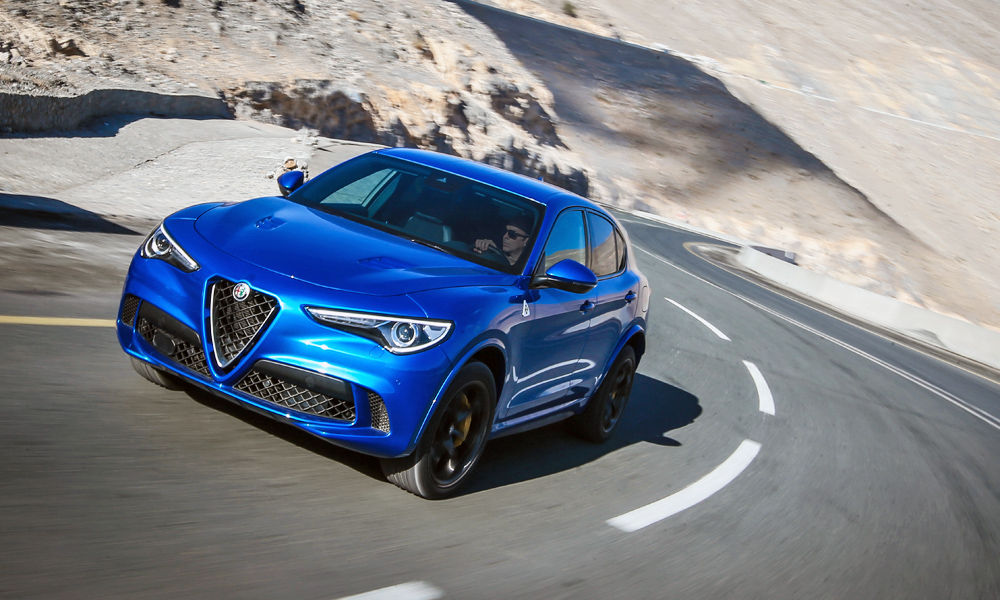 driven alfa romeo stelvio quadrifoglio car magazine. Black Bedroom Furniture Sets. Home Design Ideas