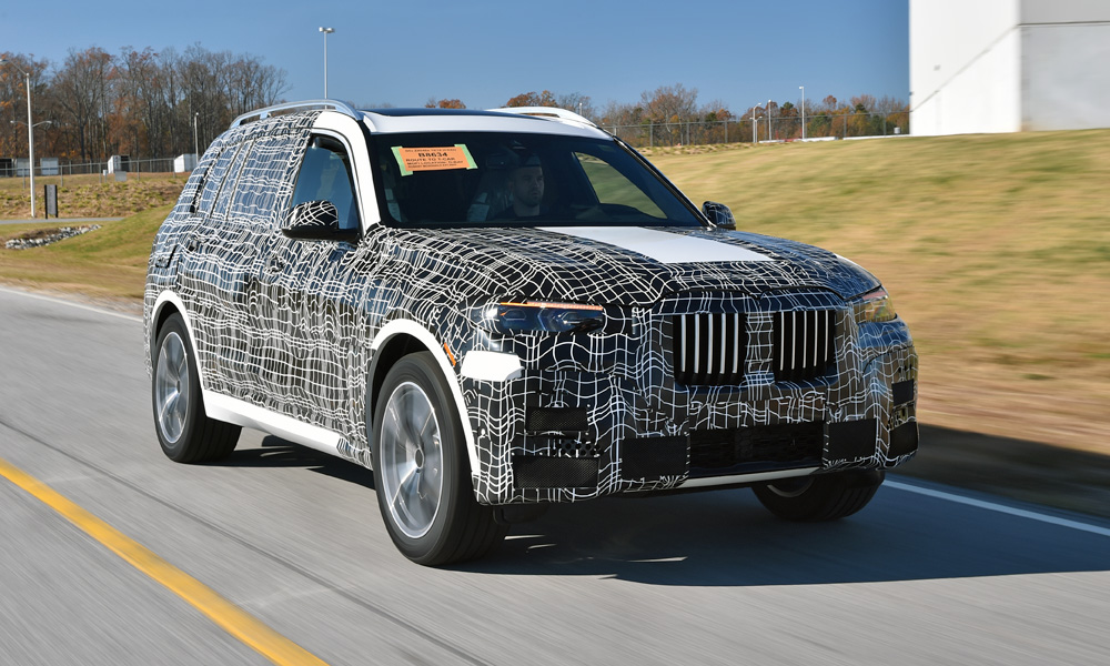 All pre-production units are wrapped in camouflage before leaving the plant.